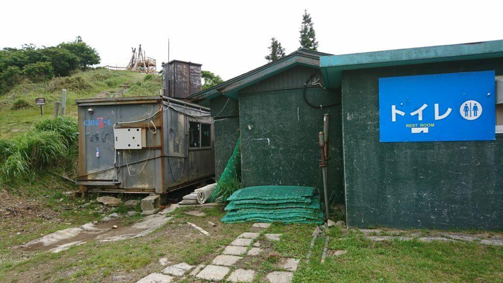 琵琶湖バレイのトイレ