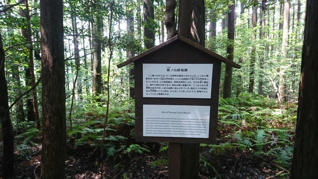 剣ノ山経塚跡