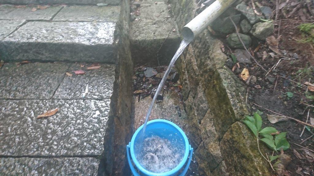 日吉大社の水場