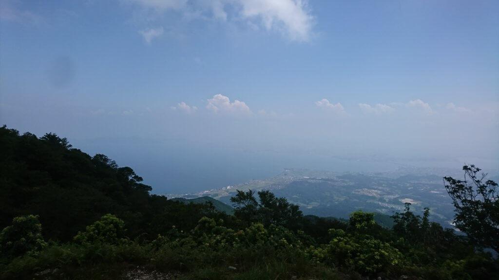 権現山山頂からの景色