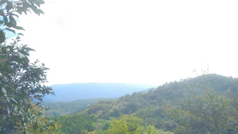 霊山からの景色
